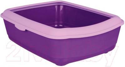 Туалет-лоток Trixie Classic 40314 (фиолетово-лиловый) - общий вид