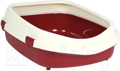 Туалет-лоток Trixie Primo XL 40285 (Burgundy-Cream) - общий вид