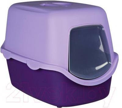 Туалет-домик Trixie Vico 40274 (Purple-Lilac) - общий вид