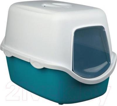 Туалет-домик Trixie Vico 40275 (аквамарин-кремовый) - общий вид