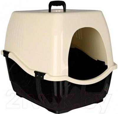 Туалет-домик Trixie Bill 1 S 40131 (Black-Cream) - общий вид