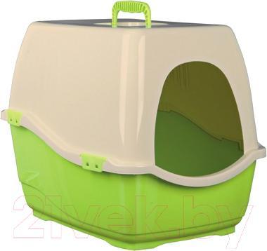 Туалет-домик Trixie Bill 1 S 40133 (Green-Beige) - общий вид