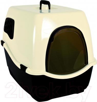 Туалет-домик Trixie Bill 1 F 40161 (Black-Cream) - общий вид