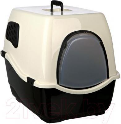 Туалет-домик Trixie Bill 2 F 40171 (Black-Cream) - общий вид