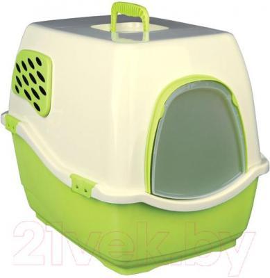 Туалет-домик Trixie Bill 2 F 40173 (Green-Cream) - общий вид