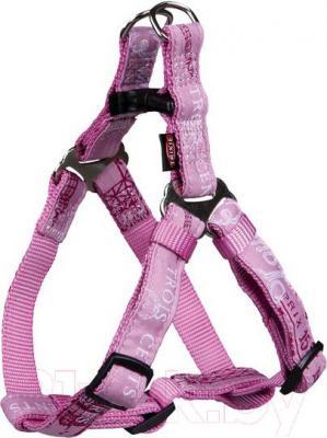Шлея Trixie Modern Art Harness Paris 13815 (S, Pink) - общий вид