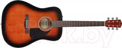 Акустическая гитара Fender CD-60 (Sunburst) - общий вид