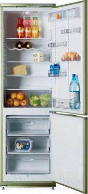 Холодильник с морозильником ATLANT ХМ 6024-070 - внутренний вид