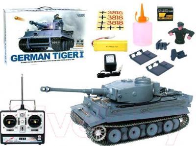 Радиоуправляемая игрушка Heng Long Танк Germany Tiger (3818-1) - комплектация