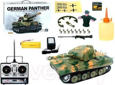 Радиоуправляемая игрушка Heng Long Танк Germany Panther (3819-1) - комплектация