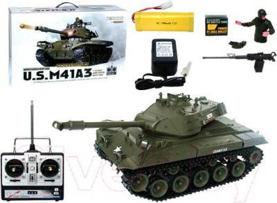 Радиоуправляемая игрушка Heng Long Танк US M41A3 (3839-1) - комплектация