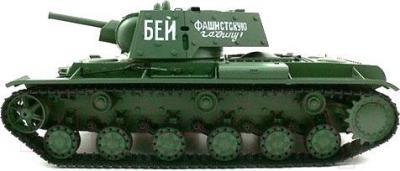 Радиоуправляемая игрушка Heng Long Танк KV-1 (3878-1) - вид сбоку