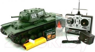 Радиоуправляемая игрушка Heng Long Танк KV-1 (3878-1 Pro) - комплектация