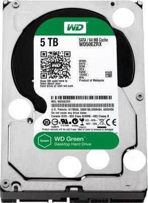 Жесткий диск Western Digital Green 5TB (WD50EZRX) - общий вид