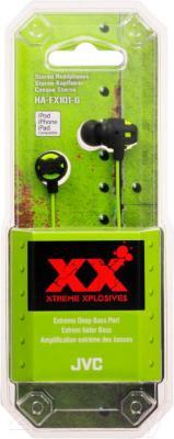 Наушники JVC HA-FX101-GEF - в упаковке