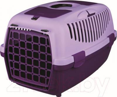 Переноска для животных Trixie Traveller Capri II 39827 (фиолетово-сиреневый) - общий вид