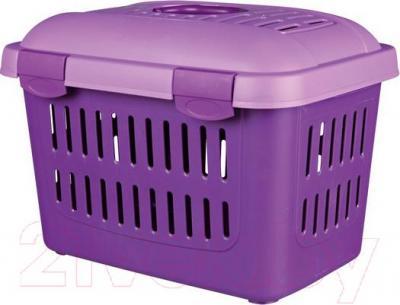 Переноска для животных Trixie Traveller Midi-Capri 39794 (Purple) - общий вид