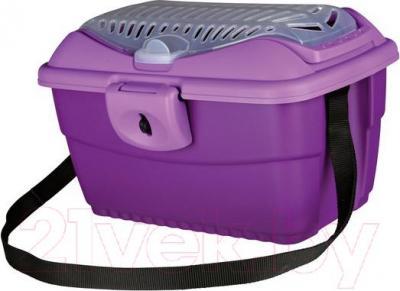 Переноска для животных Trixie Traveller Mini-Capri 39804 (Purple) - общий вид