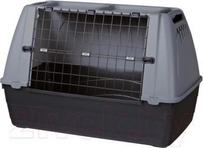 Переноска для животных Trixie Journey L 39415 (черно-серый) - общий вид