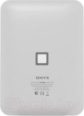 Электронная книга Onyx Boox i63ML Newton (белый) - вид сзади
