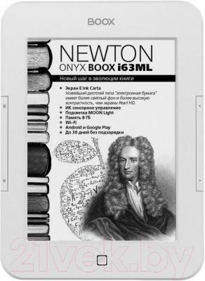 Электронная книга Onyx Boox i63ML Newton (белый) - общий вид