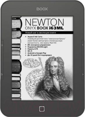 Электронная книга Onyx Boox i63ML Newton (серый металлик) - общий вид