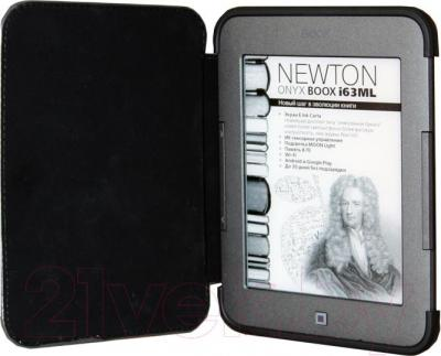 Электронная книга Onyx Boox i63ML Newton (серый металлик) - с обложкой
