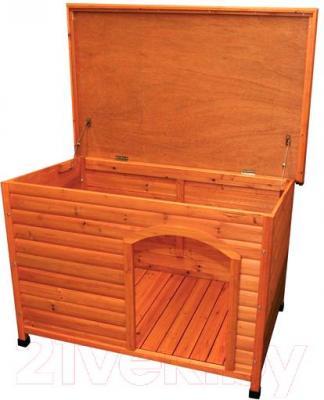 Будка для собаки Trixie 39552 (L, Wood) - открывающаяся крышка