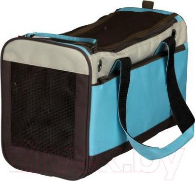 Сумка для животных Trixie Fiona 36417 (голубо-бежево-коричневый) - общий вид