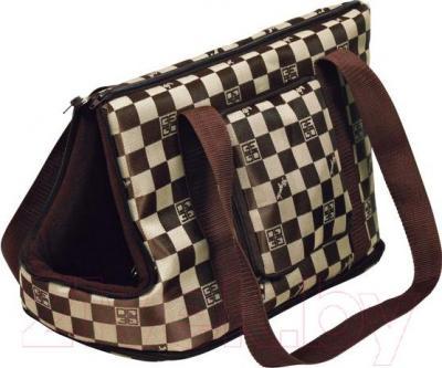 Сумка для животных Trixie Chess 36223 (Brown-Beige) - общий вид