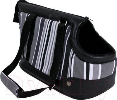 Сумка для животных Trixie Stormy 36224 (черно-бело-серый) - общий вид