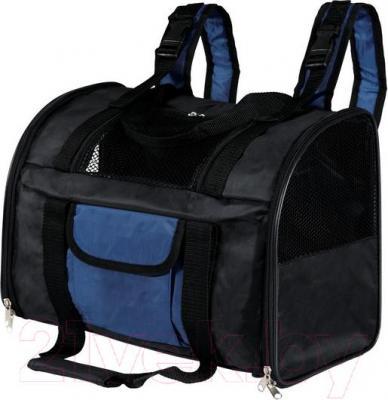 Рюкзак-переноска Trixie Connor 2882 (Black-Blue) - общий вид