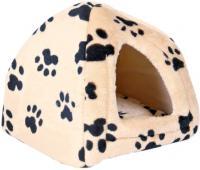 Домик для животных Trixie Sheila 3698 (бежевый с лапами) -
