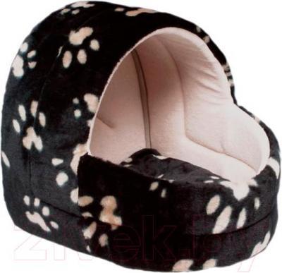 Домик для животных Trixie Charly 36841 (черно-бежевый) - общий вид