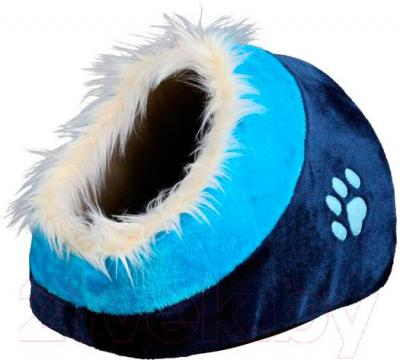 Домик для животных Trixie Minou 36309 (сине-голубой) - общий вид