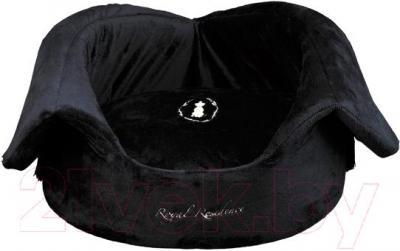 Домик для животных Trixie King of Dogs 37990 (черный) - в форме лежанки