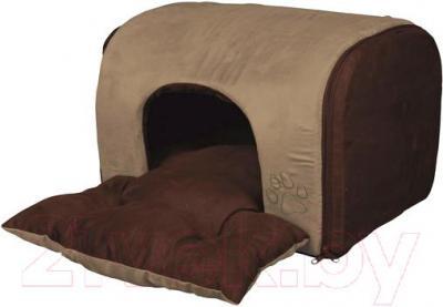 Домик для животных Trixie Hollis 36335 (песочный/темно-коричневый) - общий вид