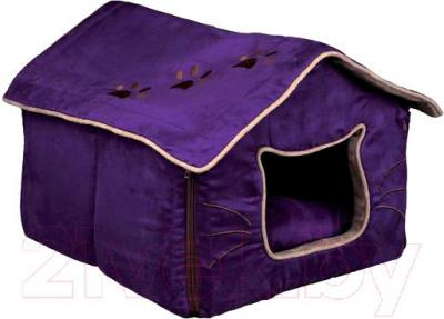 Домик для животных Trixie Hilla 36333 (Purple-Sand) - общий вид