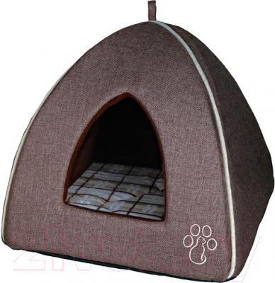 Домик для животных Trixie Cemra Cuddly Cave 36342 (коричневый) - общий вид