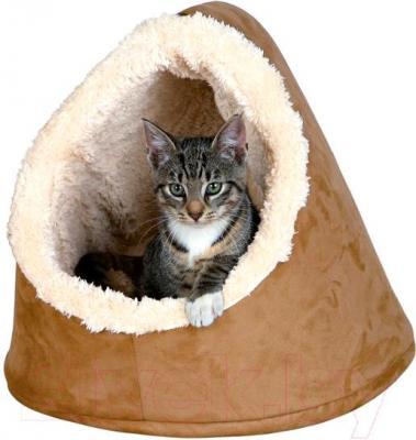 Домик для животных Trixie Minee 36343 (коричнево-бежевый) - общий вид