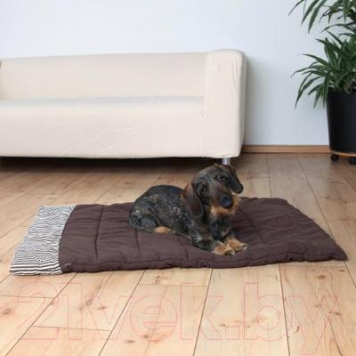 Подстилка для животных Trixie Rory 36591 (коричневый) - в использовании