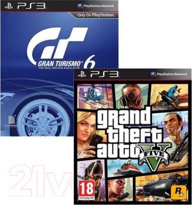 Игровая приставка Sony PlayStation 3 500GB (PS719853817) - игры в комплекте