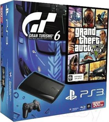 Игровая приставка Sony PlayStation 3 500GB (PS719853817) - упаковка