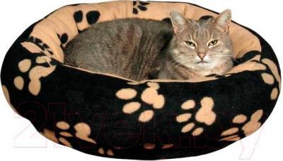 Лежанка для животных Trixie Sammy 37681 (черно-бежевый) - общий вид