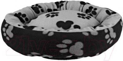 Лежанка для животных Trixie Sammy 37691 (черно-серый) - общий вид