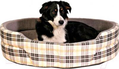 Лежанка для животных Trixie Lucky 37022 (бежево-серый) - общий вид