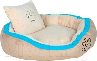 Лежанка для животных Trixie Bonzo 37661 (бежево-бирюзовый) - общий вид