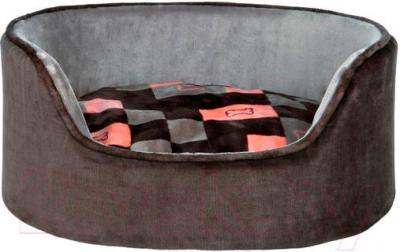 Лежанка для животных Trixie Currito 38301 (серый/оранжево-розовый) - общий вид