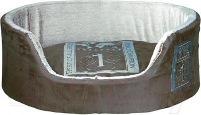 Лежанка для животных Trixie Best of all Breeds 38341 (серо-коричневый/светло-серый) - общий вид