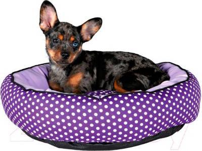 Лежанка для животных Trixie Lilo 37405 (фиолетово-лиловый) - общий вид